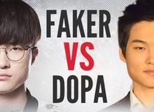 Dopa thừa nhận mình 'copy' rất nhiều kỹ năng của Faker để trở thành người chơi hàng đầu LMHT