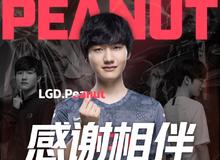 Đưa LDG Gaming đến CKTG sau 5 năm, Peanut vẫn phải ra đi trong tiếc nuối
