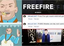 Free Fire giật được giải thưởng danh giá, game thủ tung lời cà khịa tất cả tựa game còn lại