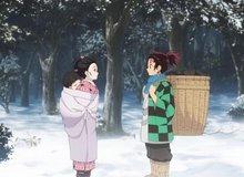 Fan cuồng KnY mặc mỗi áo phông và quần đùi, rủ nhau leo núi tuyết đến thăm quê hương anh em nhà Tanjiro