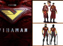 Chiêm ngưỡng những bộ giáp sáng tạo nhất của Vinaman - Siêu anh hùng đầu tiên của Việt Nam