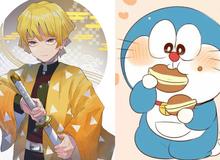 """Đánh bại Doraemon, movie Kimetsu no Yaiba mới là """"no 1"""" tại Nhật Bản lúc này"""