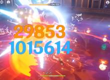 [Genshin Impact] Xuất hiện kỷ lục mới với pha nổ bom nước hơn 1 triệu damage