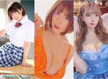 """BXH diễn viên phim 18+ ăn khách 10/2020: """"Tân binh ngực khủng"""" quán quân, Yua Mikami trở lại hạng 3"""