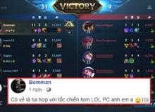 """Bomman nói hợp chơi Tốc Chiến hơn LMHT PC, Minh Nghi cho một câu chí mạng khiến """"Người Mìn"""" đứng hình"""