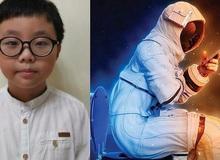 Cậu bé 9 tuổi chiến thắng cuộc thi thiết kế toilet trên Mặt trăng của NASA
