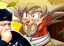 """Dragon Ball: Goku và Vegeta khi trở thành 2 """"ông lão để râu"""" trông sẽ như thế nào?"""
