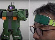 Các nhà khoa học Nhật tạo ra công nghệ điều khiển robot Gundam bằng trí óc