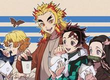 Kimetsu no Yaiba: Mặc dù đã hy sinh nhưng Viêm Trụ mãi mãi còn sống trong loạt fan art của người hâm mộ