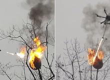Bị ong vò vẽ đốt quanh năm, dân làng góp 300 triệu đồng chế máy bay phun lửa đốt lại tổ của chúng