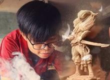 Tự tay tạc tượng đấng Yasuo, nghệ nhân trẻ khiến cộng đồng LMHT phát sốt vì quá giống với nguyên mẫu