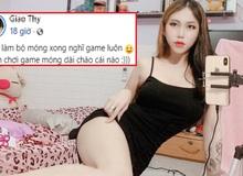 Làm móng chơi noel, nữ game thủ sexy khiến cộng đồng PUBG Mobile choáng váng, thương xót cho chiếc điện thoại
