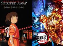 Vượt mặt tượng đài Spirited Away của Ghibli, KnY chính thức đứng số 1 tại quê nhà!