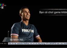 Ronaldo lên hẳn thời sự VTV để nói về Free Fire, đập tan mọi tin đồn chế giễu từ tựa game nào đó