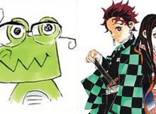 """Kimetsu No Yaiba: 100 triệu là cái giá cần phải bỏ ra để mua được 1 bức vẽ của """"chị Cá Sấu"""""""