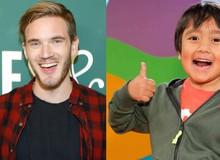 Vượt qua cả ông hoàng PewDiePie, cậu bé 9 tuổi này là Youtuber kiếm được nhiều tiền nhất năm 2020