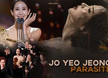 """Mỹ nhân """"Ký sinh trùng"""" Jo Yeo Jeong: Bị bạn trai bỏ vì phim 18+, bố lừa đảo và con đường đến với kỳ tích tượng vàng Oscar"""