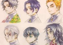 Dàn nhân vật trong Kimetsu no Yaiba hóa trai đẹp gái xinh thật phong cách khi cắt tóc ngắn