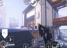 """Sốc! Game thủ tìm ra cách chơi Overwatch """"chính chủ"""" trên Mobile"""