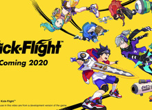 Kick-Flight, tựa game đậm chất Anime với phong cách chiến đấu độc dị cực kỳ vui nhộn chính thức ra mắt.