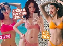 Những vòng eo đẹp siêu thực của mỹ nhân Việt: Chi Pu, Tóc Tiên nhỏ đến khó tin, Angela Phương Trinh cực đỉnh nhờ đâu?