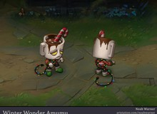 Giáng Sinh đã qua hơn 1 tháng nhưng game thủ vẫn tự mình thiết kế skin Amumu Mùa Đông Kỳ Diệu