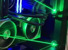 Quên đèn LED RGB đi, thời đại trang trí PC Gaming bằng tia laser đã đến
