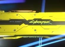 NVIDIA trình làng RTX 2080 Ti phiên bản Cyberpunk 2077 tuyệt đẹp, thế giới chỉ 200 chiếc, tặng chứ không bán