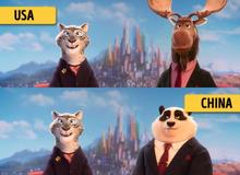 Những sự thay đổi thú vị của hoạt hình khi được chiếu trên khắp thế giới