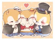 """One Piece: Luffy và những người bạn hóa sóc chuột múp míp nhìn chỉ muốn """"bắt về nuôi"""""""