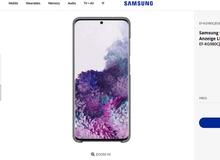 Samsung vừa để lộ hình ảnh của Galaxy S20 sắp ra mắt