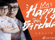 Suning Gaming gửi lời chúc ngọt như mía dành cho SofM: 'Mừng sinh nhật người đi rừng dễ thương nhất quả đất'