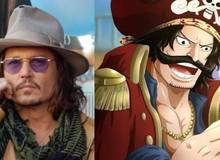 """One Piece: Johnny Depp nằm trong """"tầm ngắm"""" cho vai diễn cựu Vua hải tặc Gol D. Roger phiên bản live-action"""