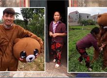 """Bà Tân Vlog lại bị chê """"diễn sâu"""" trong video """"cắt hết ruộng rau"""" của cậu con trai"""