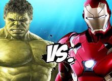 Không cần Hulkbuster, Iron Man cũng có thể hạ được Hulk