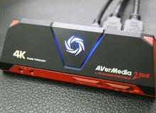 """AverMedia Live Gamer Portable 2 plus: """"Vũ khí"""" siêu tiện lợi streamer nào cũng nên rinh một cái"""