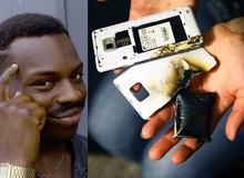 Điện thoại nổ như bom, nam thanh niên thoát chết nhờ hành động cực kỳ nhanh trí nhưng cũng rất xấu hổ