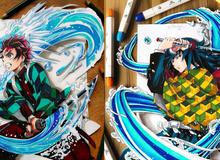 Từ Goku tới Luffy xuất hiện đầy ấn tượng qua loạt tranh 3D sống động