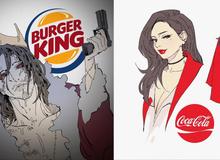 Coca Cola và loạt thương hiệu nổi tiếng hóa nhân vật anime đầy ấn tượng