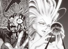 One Punch Man: Tatsumaki trọng thương trước dạng hợp thể của Vua Quái Vật và Psyko
