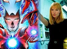 Khi bộ giáp Rescue của Pepper Potts trong Avengers: Endgame được mang ra ngoài đời thực
