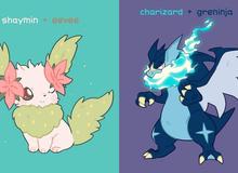Loạt tranh vẽ Pokemon hợp thể xinh đẹp nhất từ trước tới nay, bạn đã xem chưa?