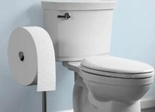Cuộn giấy vệ sinh to như đường kính Trái đất, có thể dùng thoải mái đến tận cùng thời gian