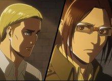 Attack on Titan Chap 127: Hange Zoe thay mặt cả Quân Trinh Sát tuyên bố không bao giờ ủng hộ Eren Jeager