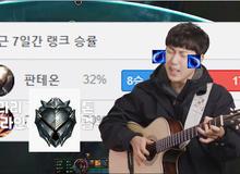 Tâm sự phong cách nghệ sĩ, ca sĩ Hàn Quốc yêu LMHT viết ca khúc về hành trình leo rank đẫm nước mắt