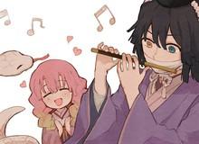"""""""Yêu từ cái nhìn đầu tiên"""" khi ngắm các nhân vật Kimetsu no Yaiba hẹn hò tình tứ"""