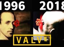 Logo mới của Valve trong Half life:Alyx khiến người chơi tưởng như đang xem phim kinh dị