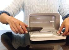 Giữa mùa dịch COVID-19, dân Mỹ đổ xô đi mua thiết bị khử trùng điện thoại này nhờ khả năng diệt 99% vi khuẩn và virus có hại