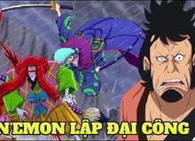 """One Piece: Sánh ngang vua hề Buggy và """"Thánh chém gió"""" Usopp, Kinemon xứng đáng gia nhập bộ ba """"Ông thần số may"""""""
