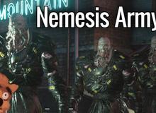 Một quái vật Nemesis đã đủ đáng sợ, vậy đội quân hàng chục con Nemesis sẽ kinh khủng như thế nào